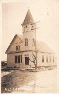 LPS27 Sunnyside Washington Baptist Church Postcard RPPC
