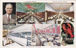 Illinois Chicago J H Ireland Oyster House Restaurant