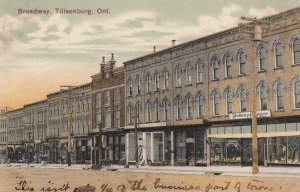 TILLSONBURG, Ontario, Canada, PU-1908; Broadway