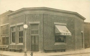 c1910 Bank Of Mount Angel Marion Oregon RPPC Photo Postcard