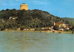 Befreiungshalle Kelheim an der Donau River Boats Church Eglise Panorama