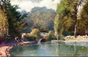 England Cheltenham Pittville Gardens Tucks