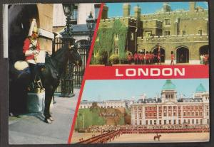 3 View Card Of London - Used 1983