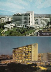 Buyuk Efes Hotel Izmir Night & Day 2x Turkey Postcard s