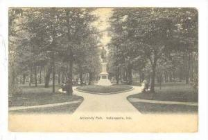 University Park & Monument, Indianapolis, Indiana, 1907