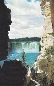 Alexandra Falls, Waterfall, Hay River, Northwest Territories, United States, ...