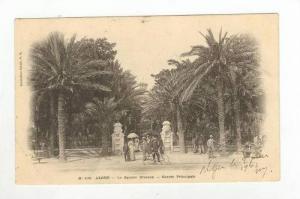Entree Principale, Le Square Bresson, Alger, Africa, PU-1903