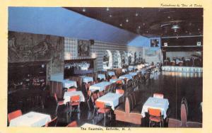 Belleville New Jersey~Fountain Night Supper Club~Dance Floor~Bandstand~1950