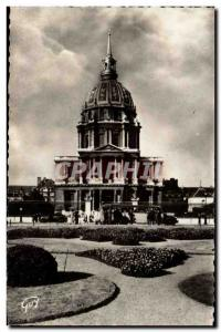 Paris Old Postcard Les Invalides