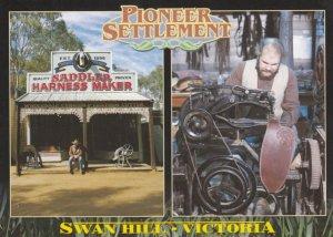 SWAN HILL , Victoria , Australia , 1970-90s ; Saddler Harness Maker
