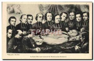 Old Postcard The cure for death & # 39Arc surrounds diocesan missionaries