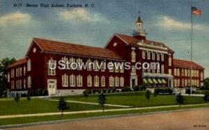 Senior High School Durham NC Unused