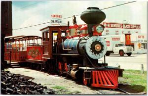 Petticoat Junction Railroad, Panama City Beach FL Vintage Postcard K03