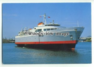 FE0319 - Canadian Ferry - Coho - postcard