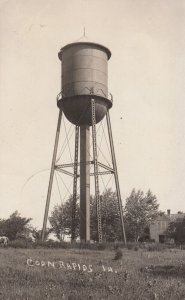 RP; COON RAPIDS , Iowa , 1909 ; Water Tower