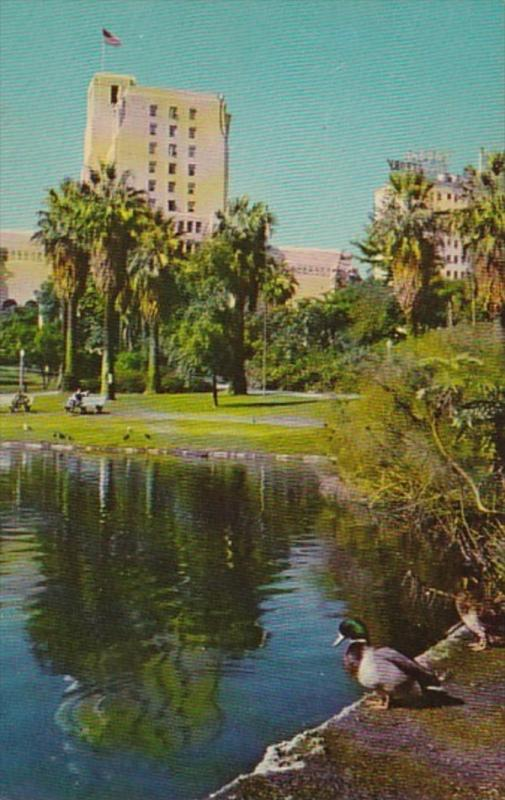California Los Angeles Elks Club From General Douglas Mac Arthur Park