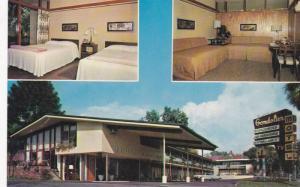 3-Views, The Gondolier Motel, Tarpon Springs, Florida, 40-60s