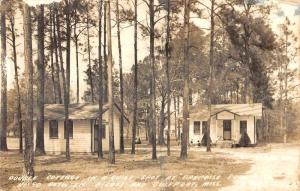 Gulfport Mississippo Paradise Point Real Photo Antique Postcard K102170
