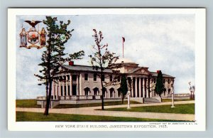 Jamestown Exposition 1907 No. 194 New York State Building - Official Postcard