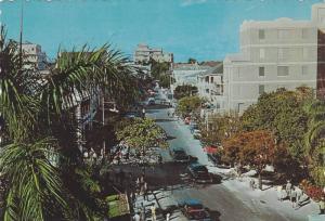 Scene At Bay Street, Nassau, Bahamas, 1950-1970s