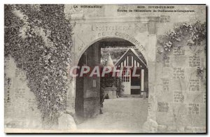 Old Postcard Normandy Dives Sur Mer & # Entree of William the Conqueror of 39...