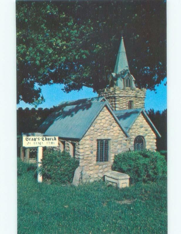 Unused Pre-1980 GRAY CHURCH Kensington Prince Edward Island PE E5975