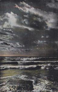 New York Kingston Lake Elle Under Moonlight 1909