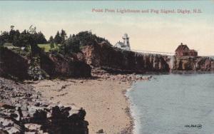 Point Prim Lighthouse and Fog Signal, Digby,  Nova Scotia, Canada, 00-10s