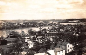 Real Photo Postcard Birds Eye View of Marietta, Ohio~111424