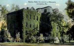 U of Missouri Columbia MO 1912