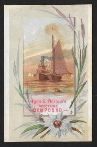 VICTORIAN TRADE CARD LE Pinkham's Vegetable Compound