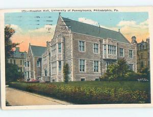 Houston Hall - University Of PA - Philadelphia Pennsylvania PA L8130