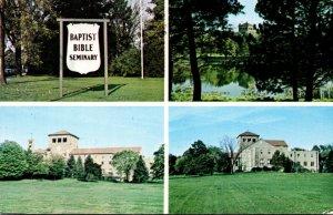 Pennsylvania Clarks Summit Baptist Bible Seminary 1968