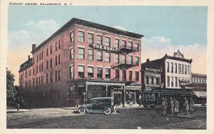 SALAMANCA , New York  , 1900-10s ; Dudley House