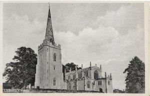 Warwickshire Postcard - Lapworth - St Mary's Church - Ref ZZ3857