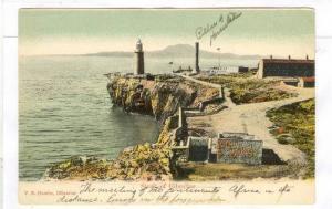 Strait of Gibraltar lighthouse Spain V B Cumbo Gibraltar, 00-10s