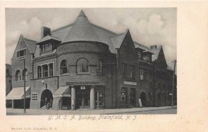 Y.M.C.A. Building, Plainfield, New Jersey, Early Postcard, Unused