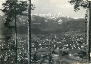 Austria Villach mit Mangart Postcard