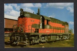 PA Bessemer and & Lake Erie Railroad Train ALBION Pennsylvania Penn Postcard RR