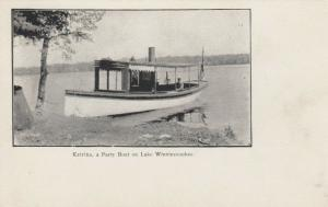 Lake Winnipesaukee , New Hampshire, 1901-07 ; Party Boat Katrina