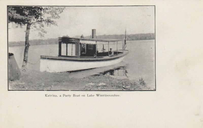 Lake Winnipesaukee , New Hampshire, 1901-07 ; Party Boat Katrina