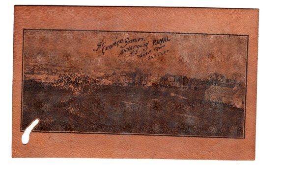 Leather, St George St Annapolis Royal, Nova Scotia