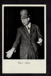 Carl Napp Comedian Comedy Film Actor German Germany Postcard  Carte Postale