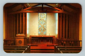 Pittsburgh PA, The Chapel At First Methodist Church Chrome Pennsylvania Postcard
