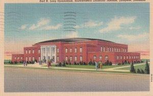 LAFAYETTE, Louisiana, PU-1944; Earl K. Long Gymnasium, Southwestern Louisiana...