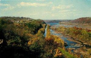 Potomac River Hilltop House Harpers Ferry West Virginia WV Postcard