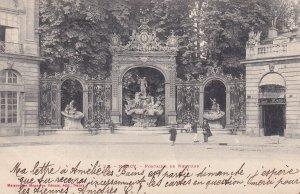 NANCY, Meurthe Et Moselle, France, PU-1904; Fontaine De Neptune