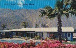 California Palm Springs Dinah Shores Palm Springs Home