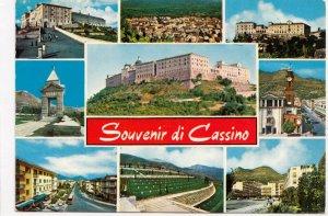 Souvenir di Cassino, used Postcard