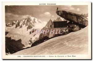 Postcard Old Savoie Tourism Chamonix and Mont Blanc cover the Hut